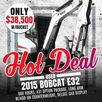 Used 2015 Bobcat E32
