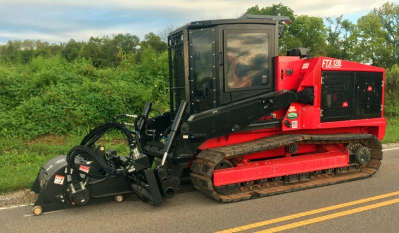 FTX128L Mulching Tractor full