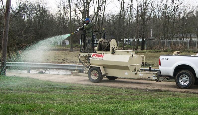 Finn T60S HydroSeeder full
