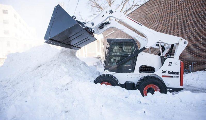 Bucket, Snow & Light Material full