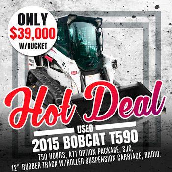 Used 2015 Bobcat T590